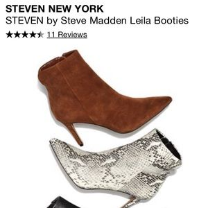 Steven by Steve Madden Leila heeled bootie